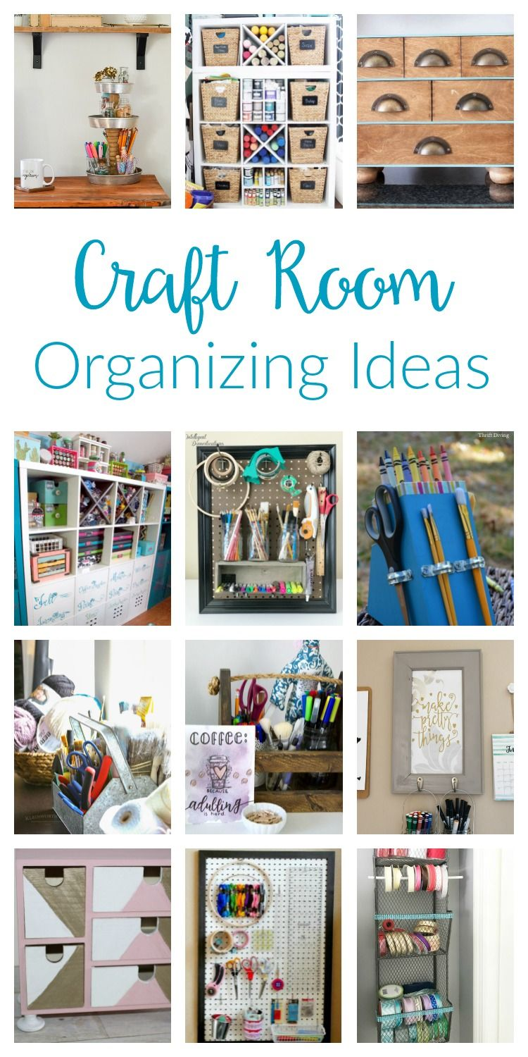 Craft room organization ideas craft room organization and storage ideas you can diy on a budget from pegboards to solutioingenieria Image collections