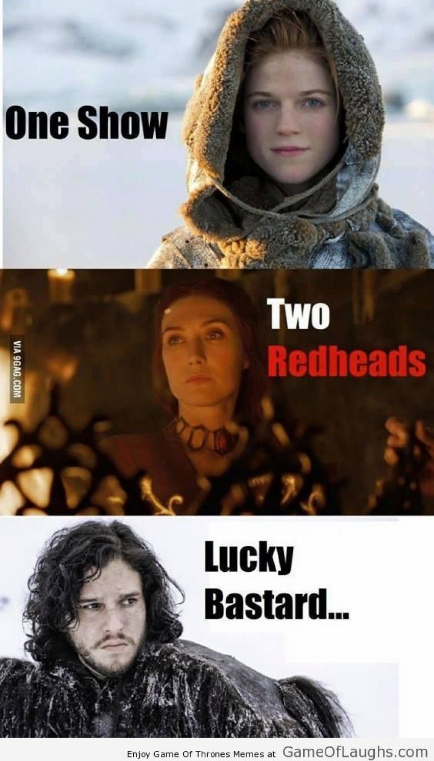 Jon Snow is really lucky   Game Of Laughs   Game of trones ...