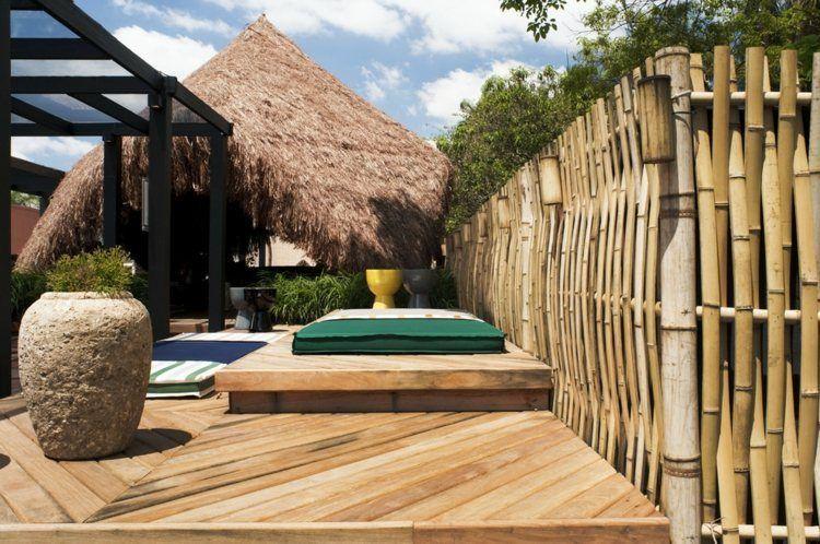 Aménagement jardin: 27 idées pour intégrer le bambou ...