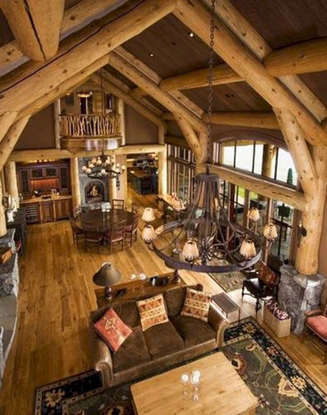 30 Rustic Cabin Style Decorating Ideas You Need To Have Log