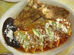 Enchiladas huastecas