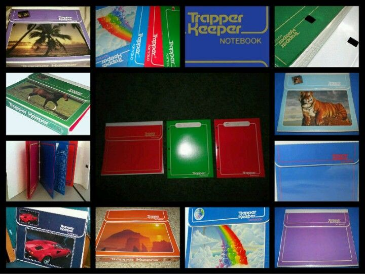 Loved my trapper keeper!