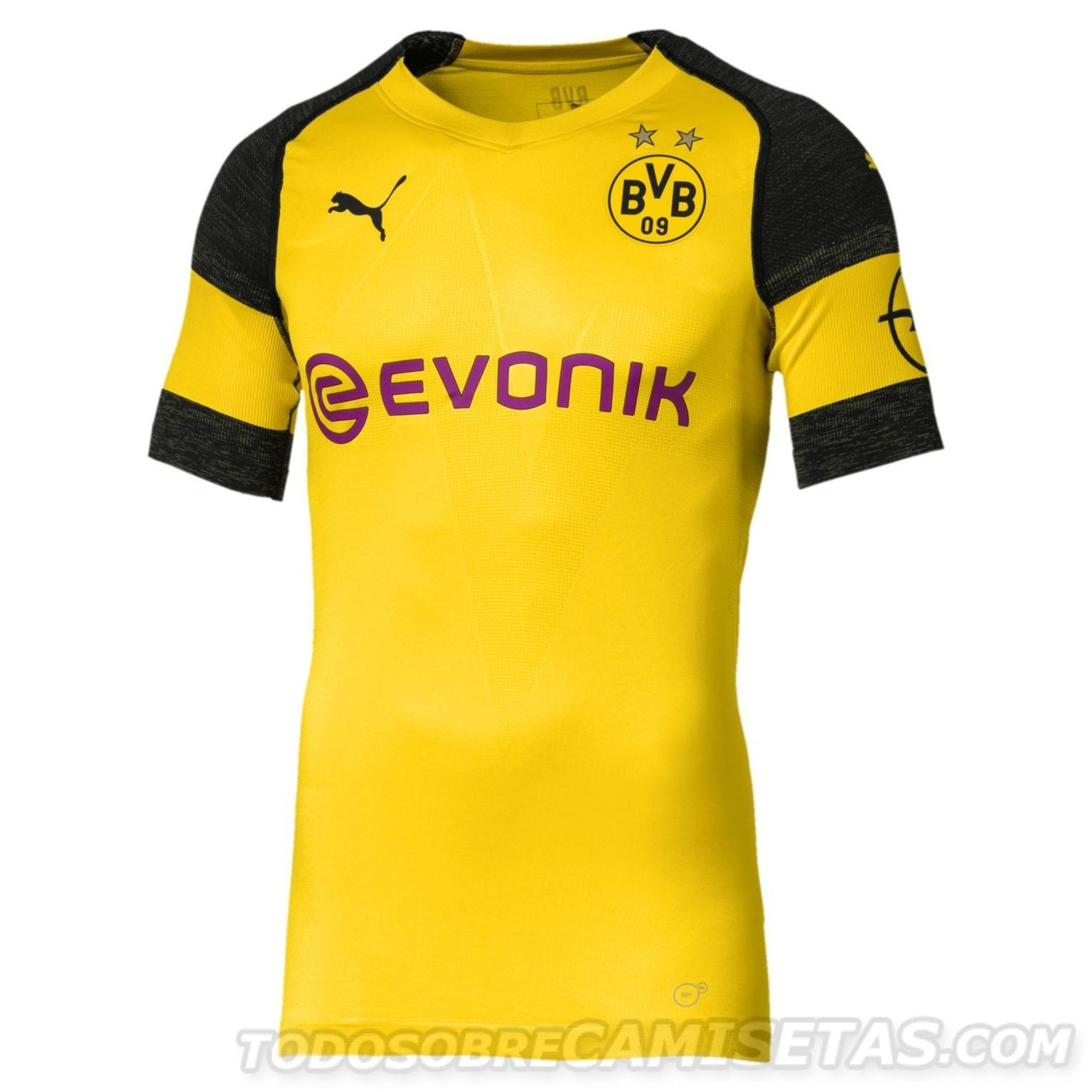 Borussia Dortmund 2018-19 PUMA Home Kit  3e715ef4476c2