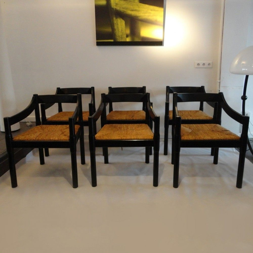 Located using retrostart.com > Carimate Dinner Chair by Vico Magistretti for Cassina