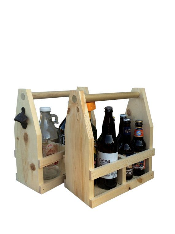 4th Of July Bbq Usa Wooden 12oz Six Pack Beer Carrier Etsy Beer Wood Beer Growler Carrier Beer Caddy