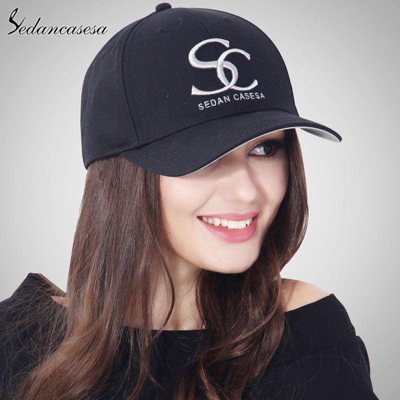 375f98532c4 est Unisex Brand Embroidery SC 100% Cotton Baseball Cap Grey Blue Pink  Black Wine Red Female Snapback Hats Wholesale Men Caps Love it