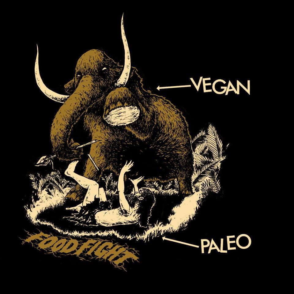 vegan vs pale food fight