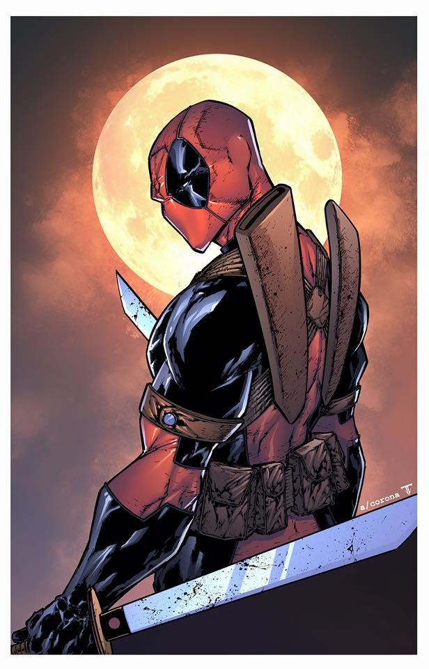#Deadpool #Fan #Art. (Deadpool) By: Adelso Corona & Juan Fernandez. (THE * 5 * STÅR * ÅWARD * OF: * AW YEAH, IT'S MAJOR ÅWESOMENESS!!!™) [THANK U 4 PINNING!!!<·><]<©>ÅÅÅ+(OB4E)