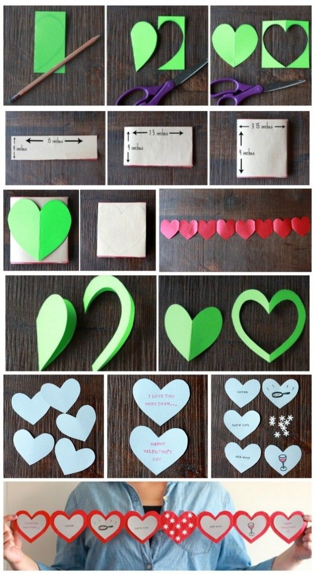 20 Lovely Last Minute Diy Valentine S Day Gift Card Com Imagens