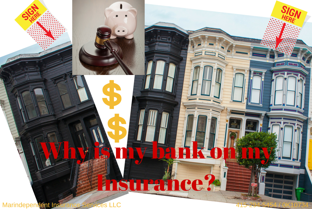 Why is your Mortgage Company listed on your homeowners