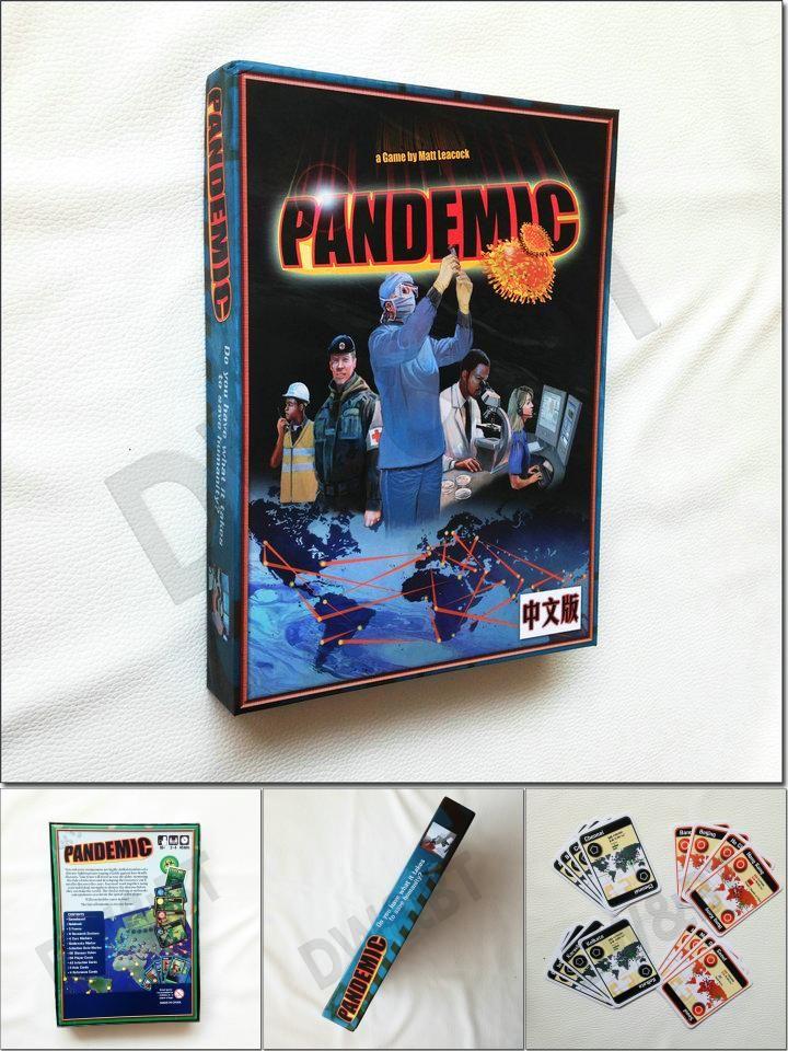 [Visit to Buy] board game pandemic full english version