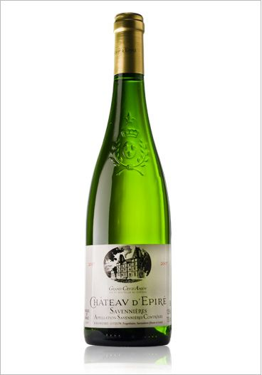 Dry chenin blanc from the Loire Valley.  Hot summer nights.