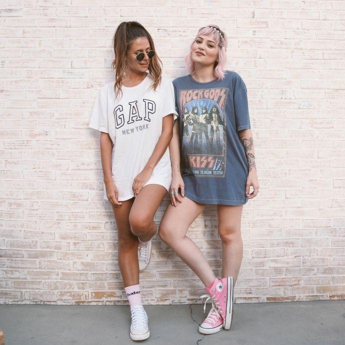 Look de amigas | Ideias de fotos, Ideias fashion
