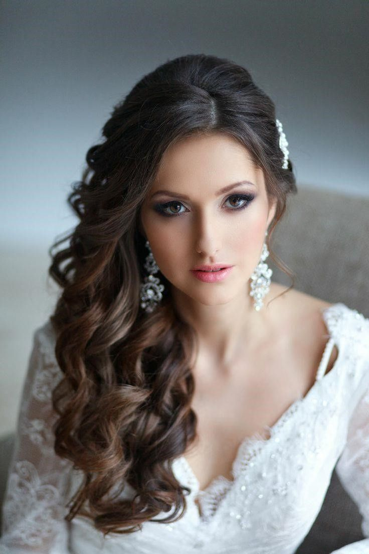 Image Result For Wedding Hair To Side With Veil