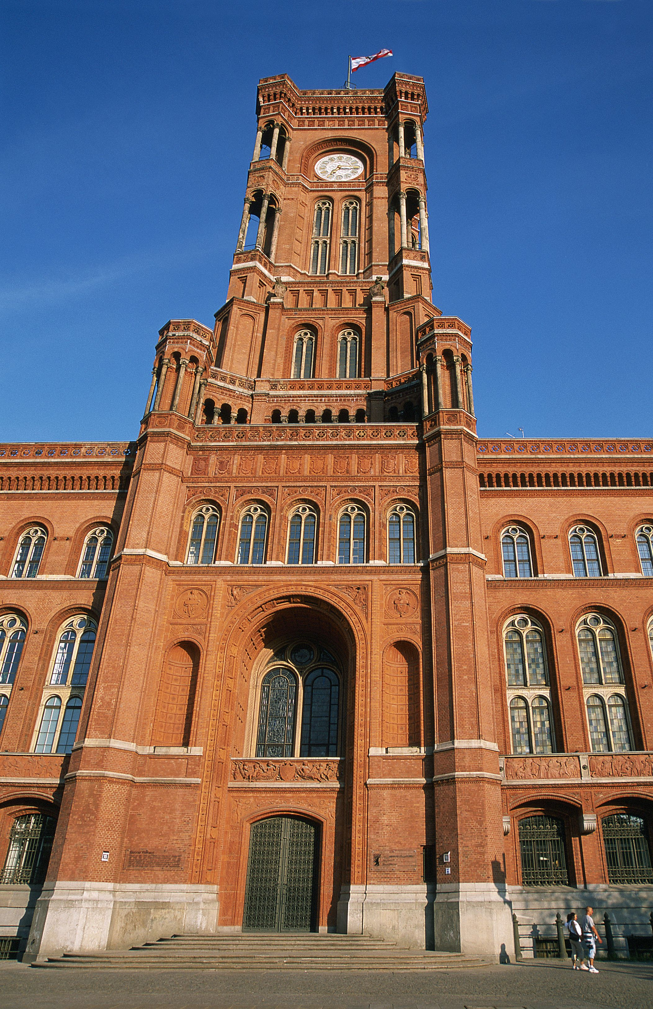 Did You Know The Berlin City Hall Is Called The Rotes
