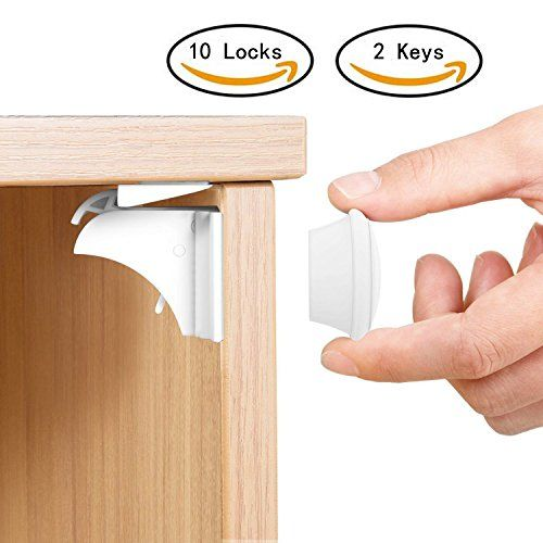 Elegant Hidden Magnetic Cabinet Locks
