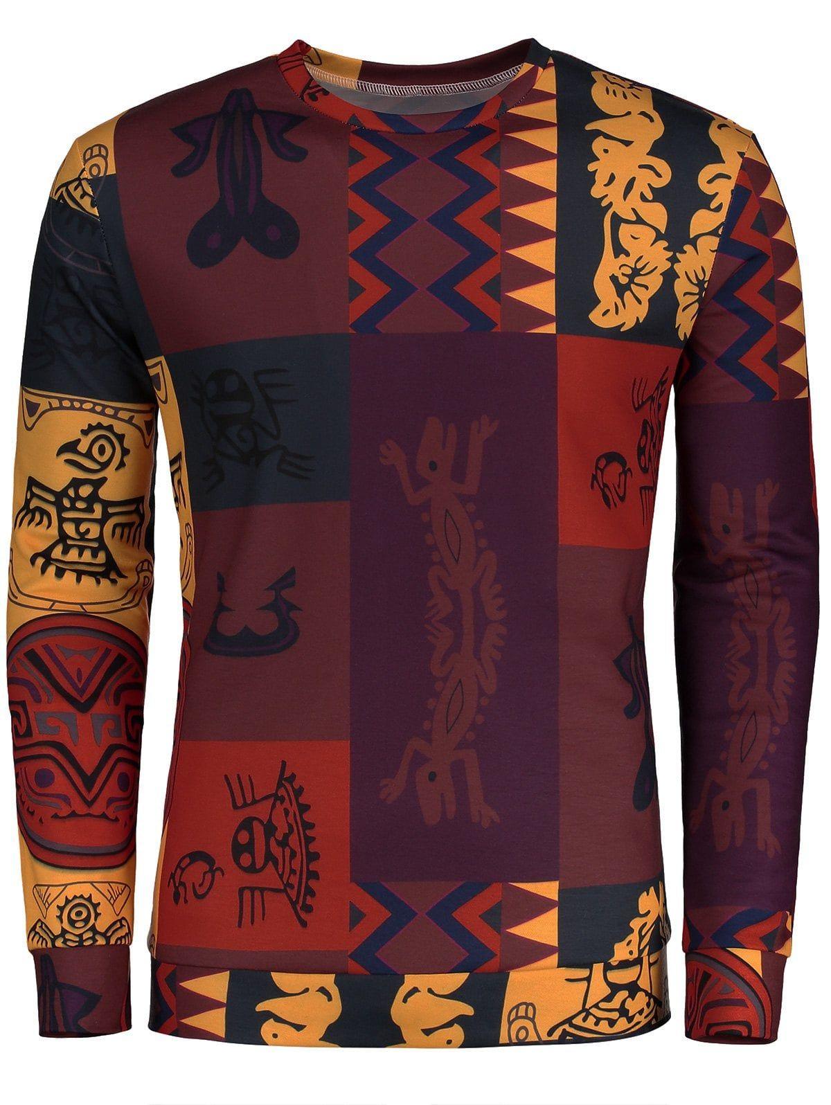 Ethnic Fashionable T Shirt,for Men,S