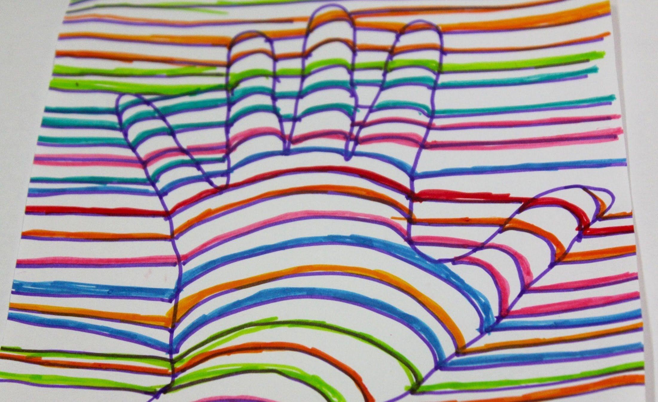 Discapacidademotora Com Dous Nenos Crean Unha Man Funcional Para A Súa Com Mano En 3d Ilusiones ópticas Para Niños Dibujos Con Lineas Curvas