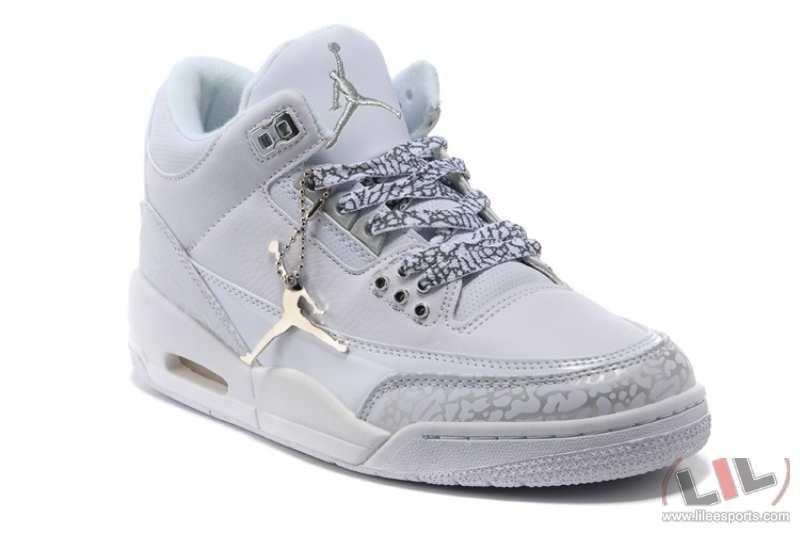 all white jordan shoes for girls | Nike Air Jordan 3 Retro Nike Basketball  Shoes -