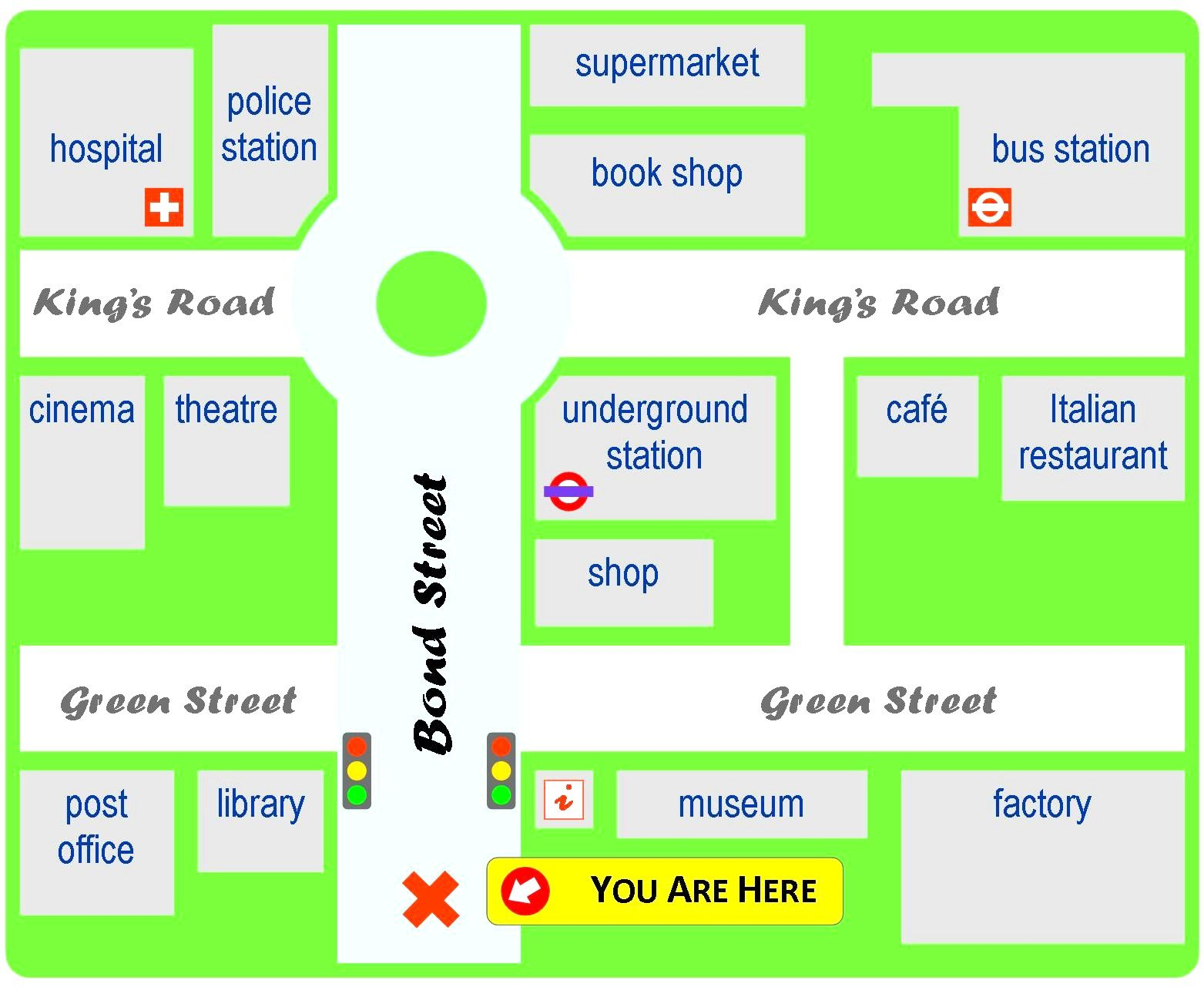 Giving Directions Learnenglish Teens British Council In