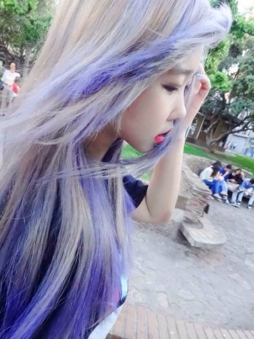 Dyed Asian Hair 77