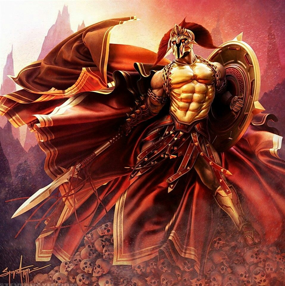 ares greek god of war mars roman mythology