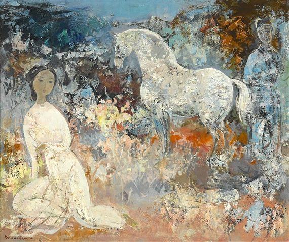 Vu-Cao Dam, Le cheval blanc