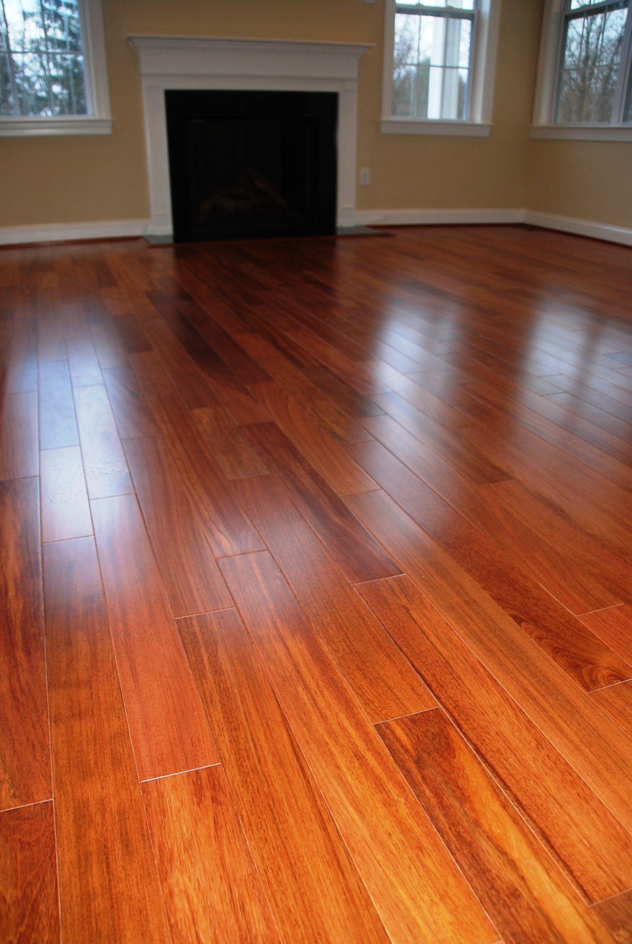 Beautiful Scandia -Brazilian Cherry Floors Installed At
