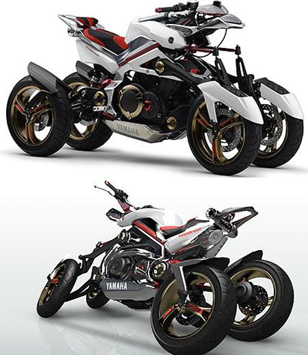 Mind Blowing Motorcycles From The Future Motos Geniales