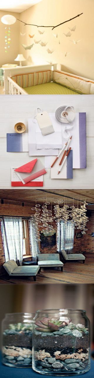 Photo of Origami Paper Cranes Mobiles Virginia wedding planner clear christmas ornaments …