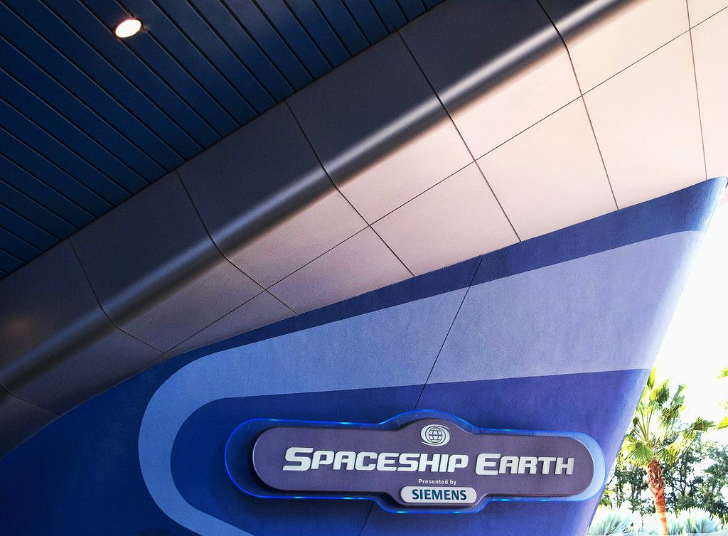 epcot spaceship earth future world