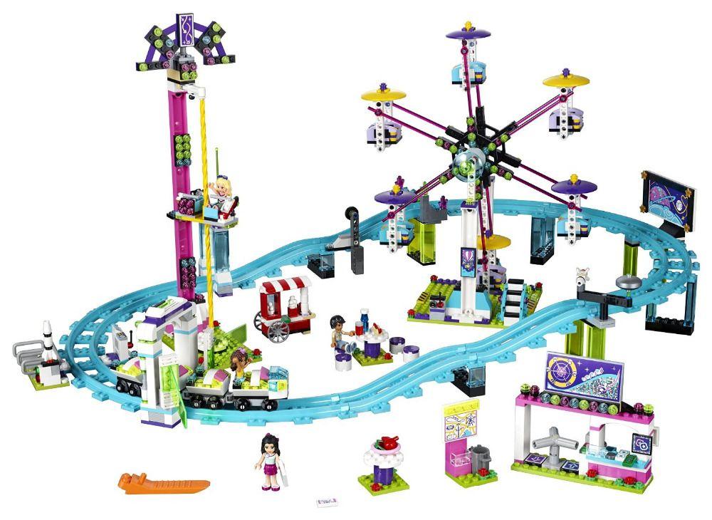 Colorful Amusement Park Building Set (1124 Pieces): Price: $64.99 ...
