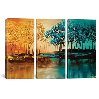 icanvas eden by osnat tzadok canvas wall art multi on icanvas wall art id=80479