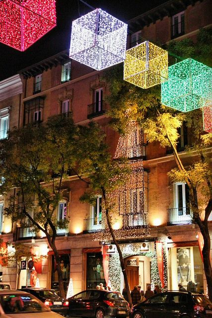 Luces de Navidad 2010 en Madrid Luces de navidad, Madrid y Luces - Luces De Navidad