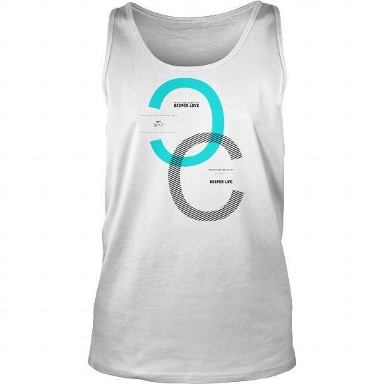 e5ccfebec Cool Deeper Love Deeper Life Sentence Motivational Quotes T shirts ...