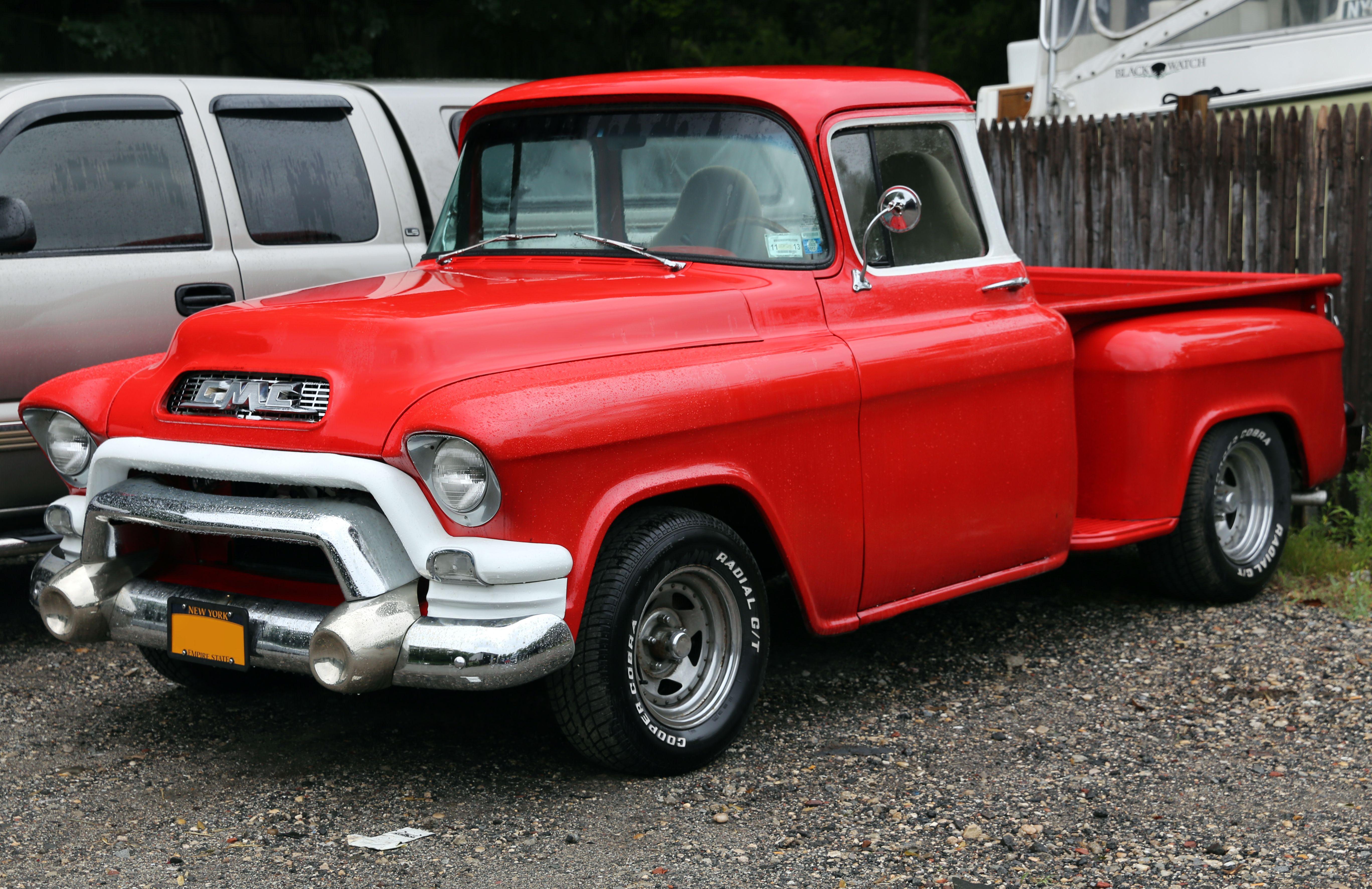 1955 Gmc Pickup Chevrolet Classic Trucks Old Classic Cars