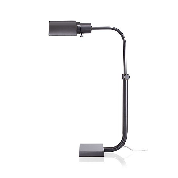 Theorem Patina Bronze Desk Lamp | Desk lamp, Floor lamp