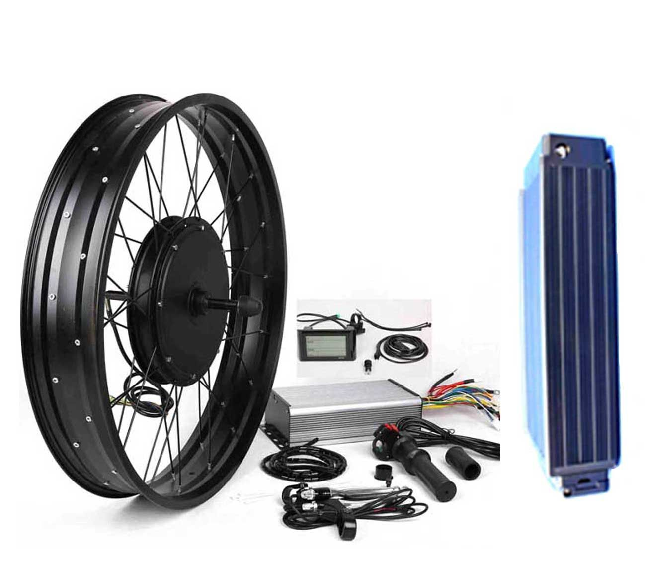 3000w Electric Bike Kit With 48v 31a Battery Huge Torque 155n M Good At Climbing Hill Driving Rang Electric Bike Kits Electric Bike Electric Bike Conversion