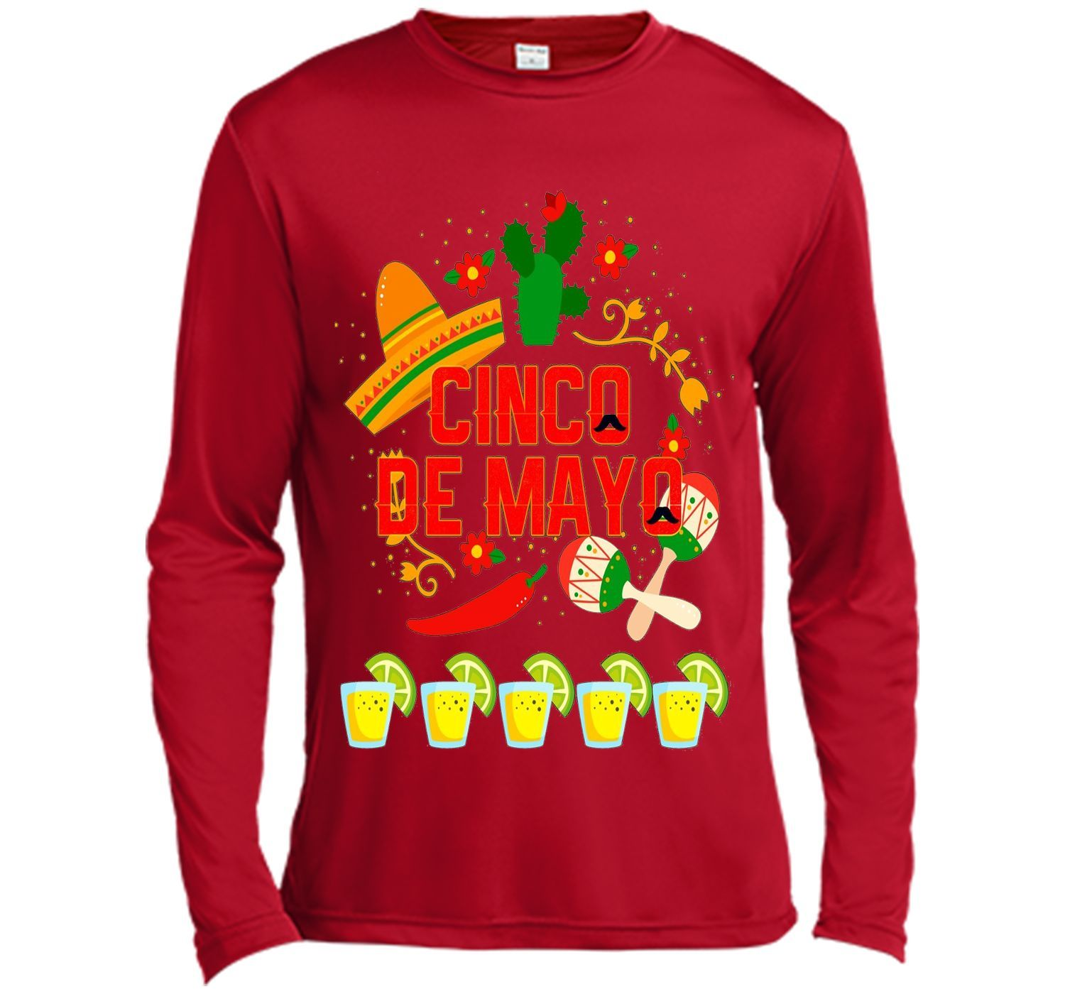 Fiesta Cinco De Mayo T-Shirt Cinco De Mayo Costume Shirt