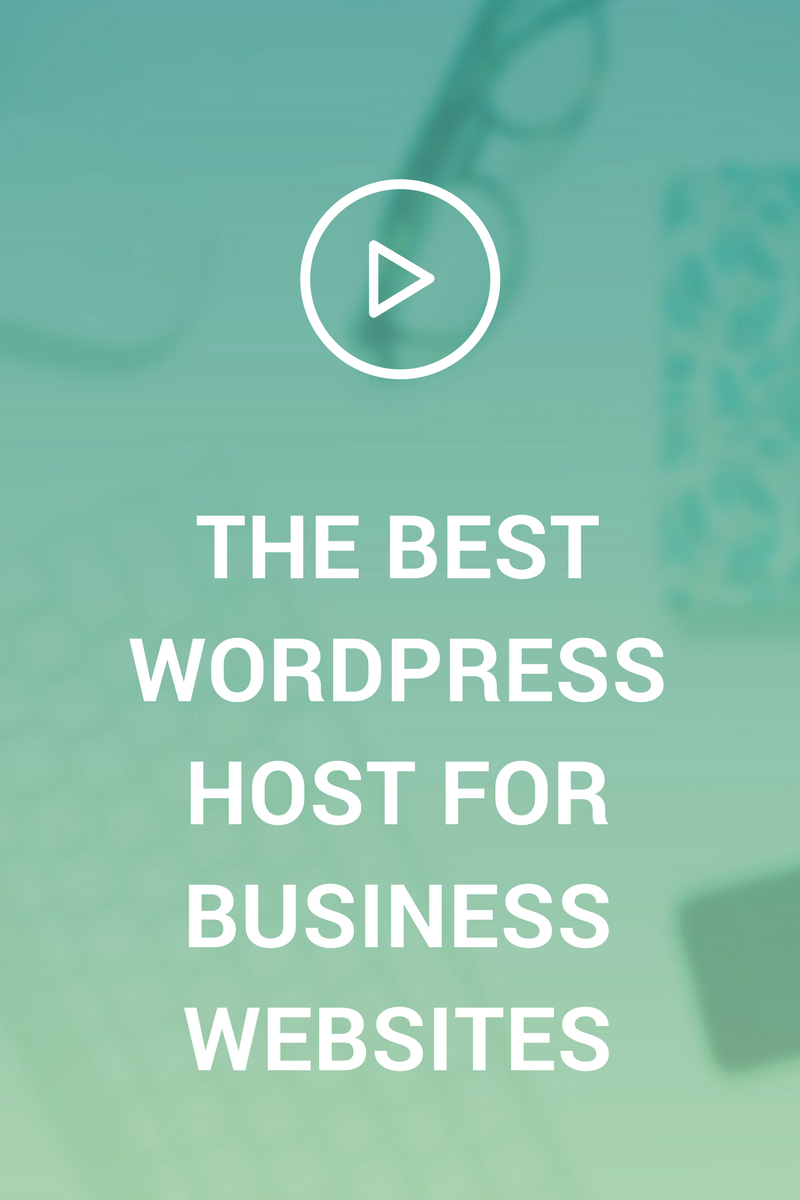 You want to find a website host that has great site speed, d
