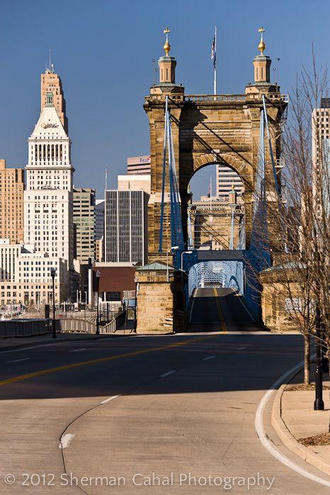 Cincinnati Oh Cincinnati Skyline City Cincinnati