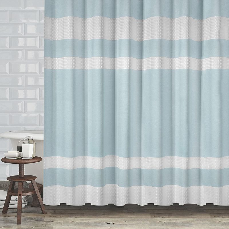 Popular Bath New England Shower Curtain Curtains Blue Shower