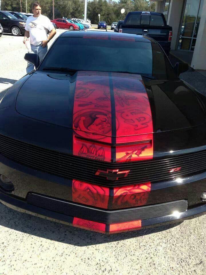 I want this paint job on my car! | FSU SEMINOLES totally rock ...