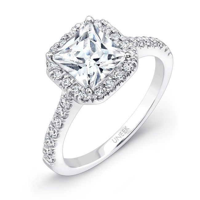 Square Engagement Rings at Smyth Jewelers