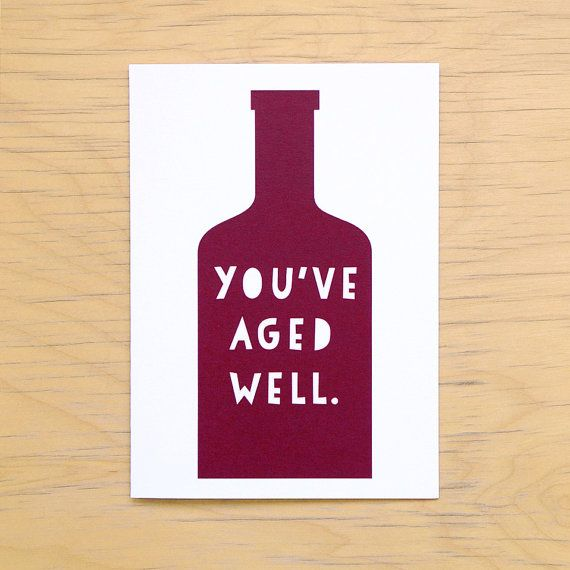 A Birthday Card For The Wine Lovers In Your Life