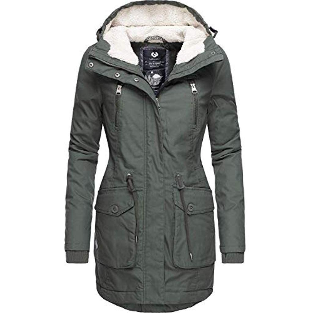 Mantel Elsa Ym Vegan Wintermantel Ragwear Damen Winterparka 8wnmNv0O