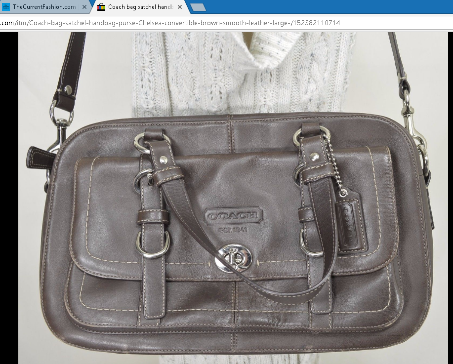 Coach bag satchel handbag purse Chelsea convertible brown smooth leather large ~ http://stores.ebay.com/thecurrentfashion/Bags-/_i.html?_fsub=10888362012 , http://stores.ebay.com/thecurrentfashion?_dmd=2&_nkw=vintage , http://stores.ebay.com/thecurrentfashion?_dmd=2&_nkw=USA , http://stores.ebay.com/thecurrentfashion | #TheCurrentFashion #USA #MadeInUSA #eBay #eBayFashion #fashion #style #womenfashion #bag #satchel #handbag #crossbody #leatherbag #Coach #Coachbag #Coachcrossbody…