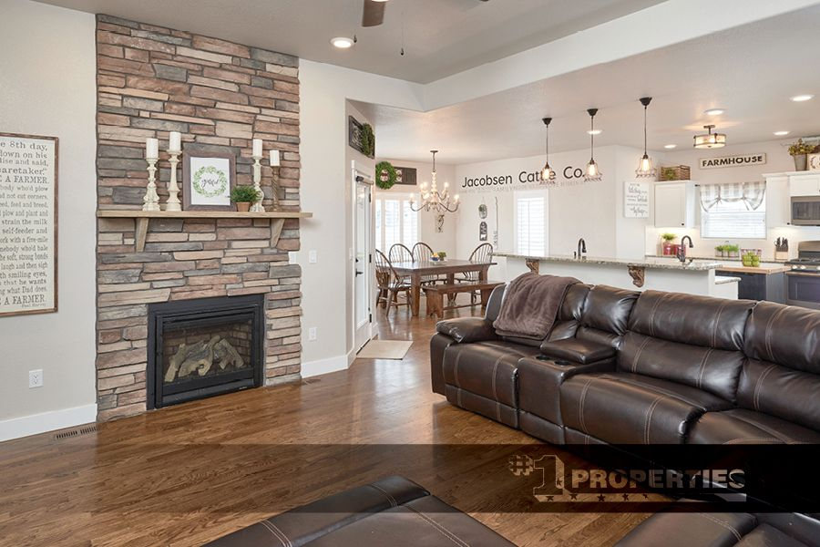 Country Living At Its Finest 2162 Road 238 Cheyenne Wyoming Cheyennehomes Realestate Househunting Realty Acreage Cou Great Rooms Fireplace Design Home