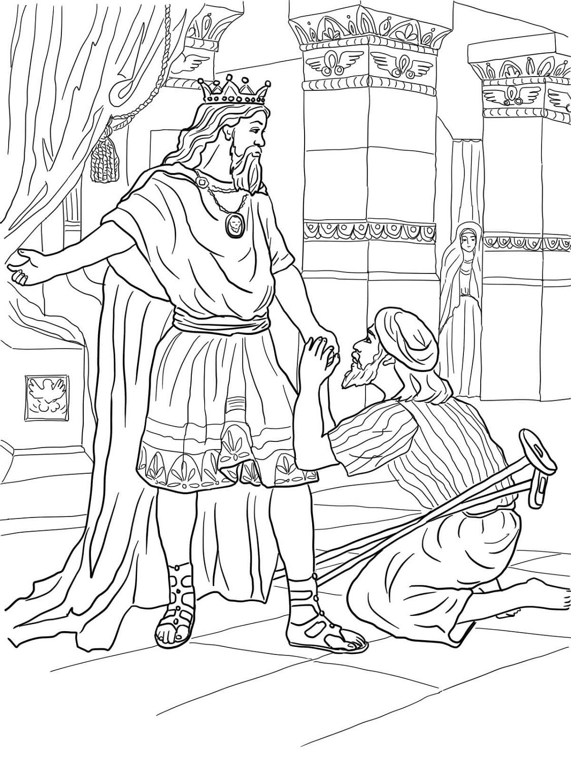 King David Coloring Pages K5 Worksheets Sunday School Coloring Pages Bible Coloring Pages Happy Birthday Coloring Pages