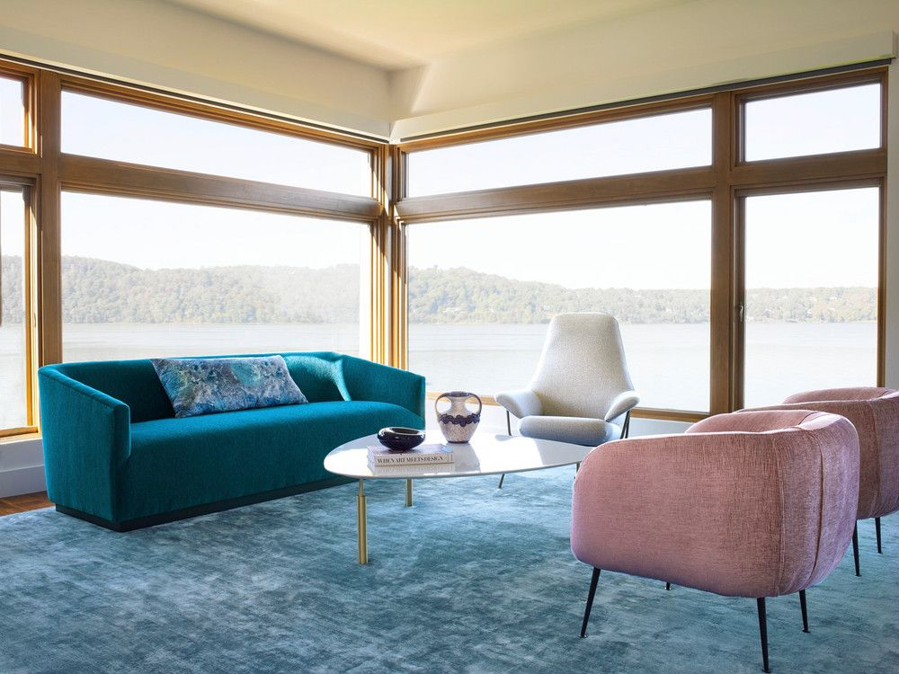 Colorful Dobbs Ferry Westchester Modern Rustic Home Tour With